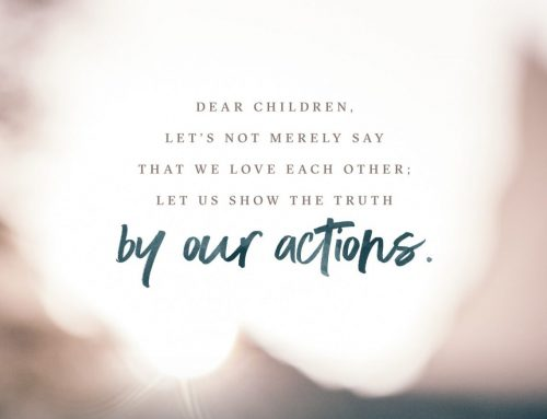 By Our Actions