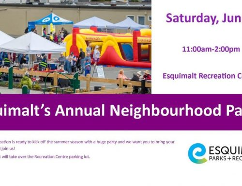 Esquimalt's Annual Neighbourhood Party
