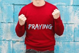 Praying at Harbourview Church