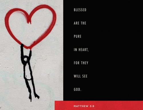Blessed are the pure in heart, for they will see God. – Matthew 5:8